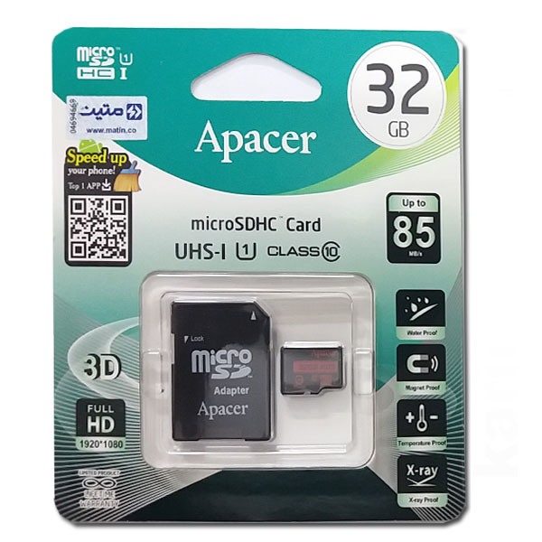 رم میکرو اپیسر APACER U1-C10 32G